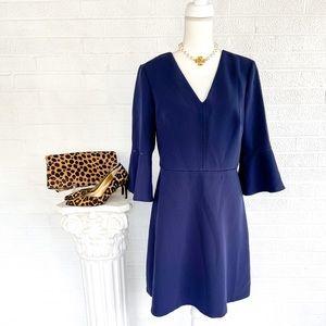 Banana Republic Navy Blue A-Line Dress - 10